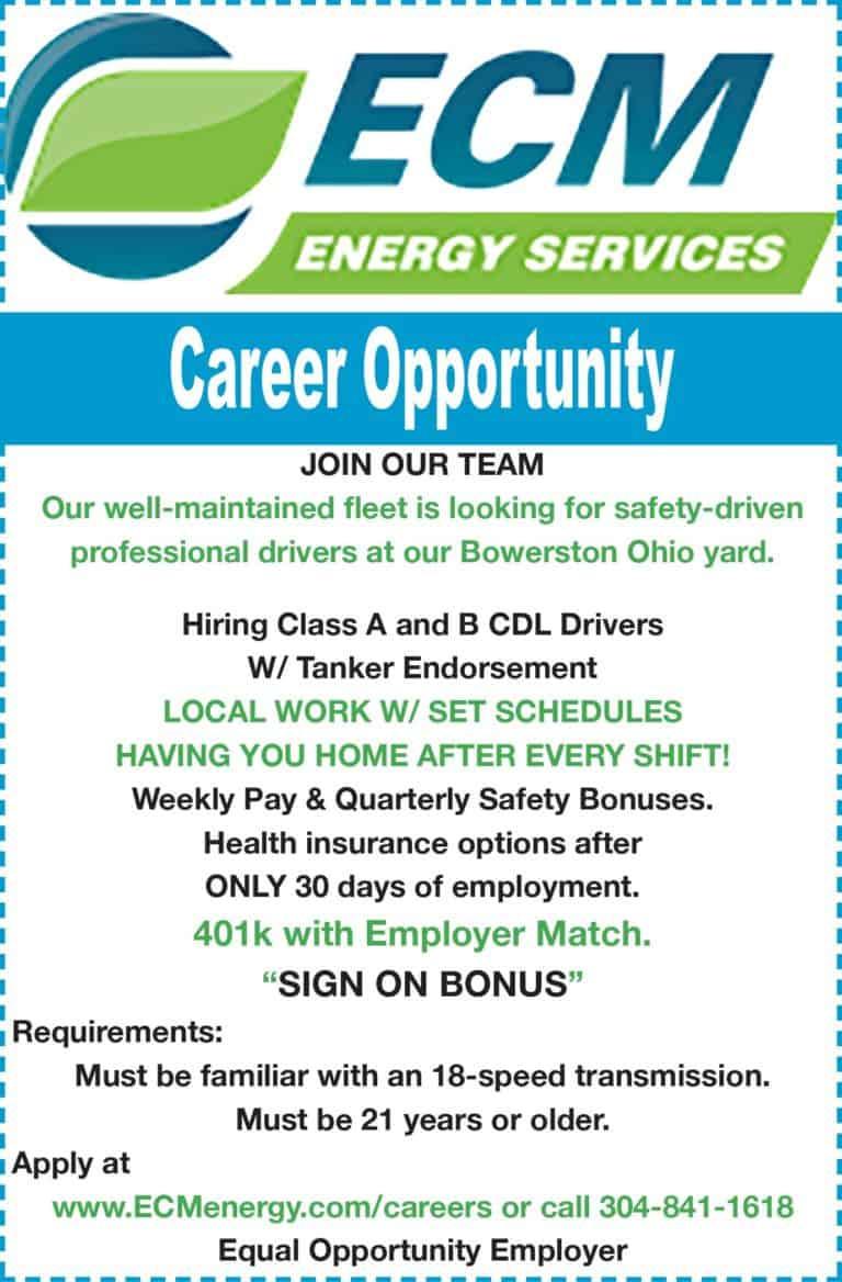 ECM Energy Job Ad